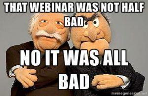 bad webinar